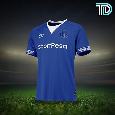 Everton Home Kit Concept