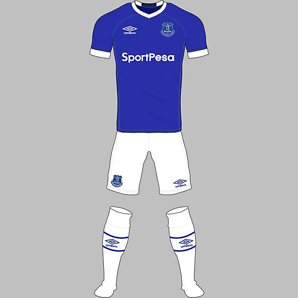 Everton Home Kit (Prediction)