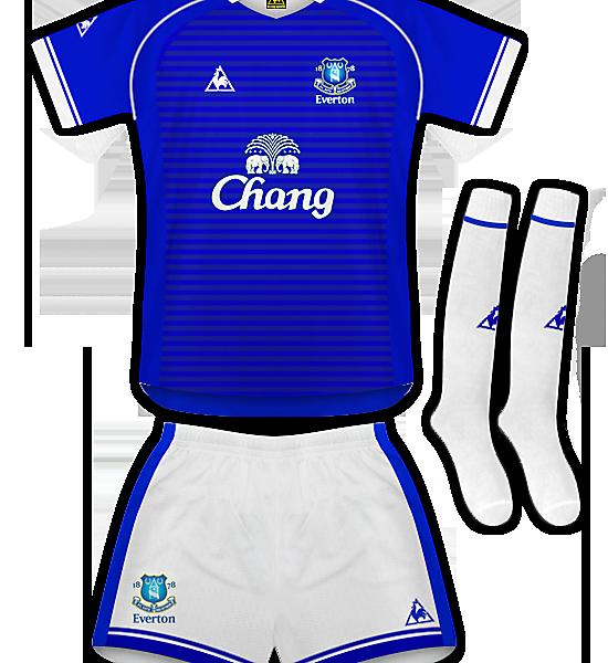 Everton Le Coq Sportif Home