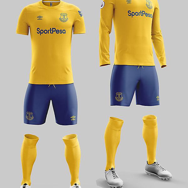 Everton Third
