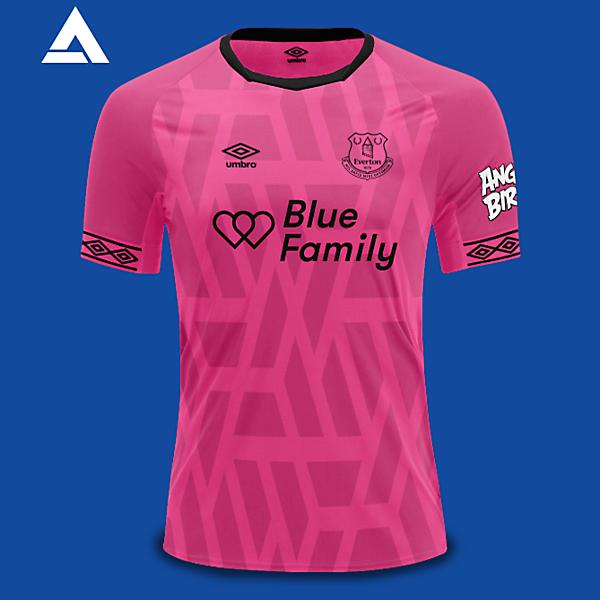 Everton Umbro 2021 Alternate Kit