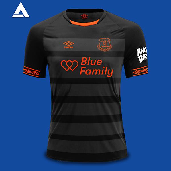 Everton Umbro 2021 Away Kit