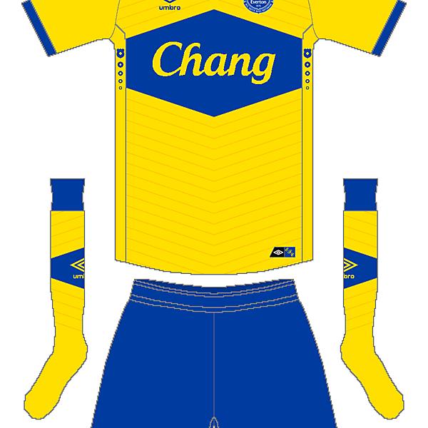 Everton Umbro Away Kit