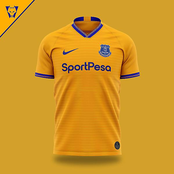 Everton x Nike away concept