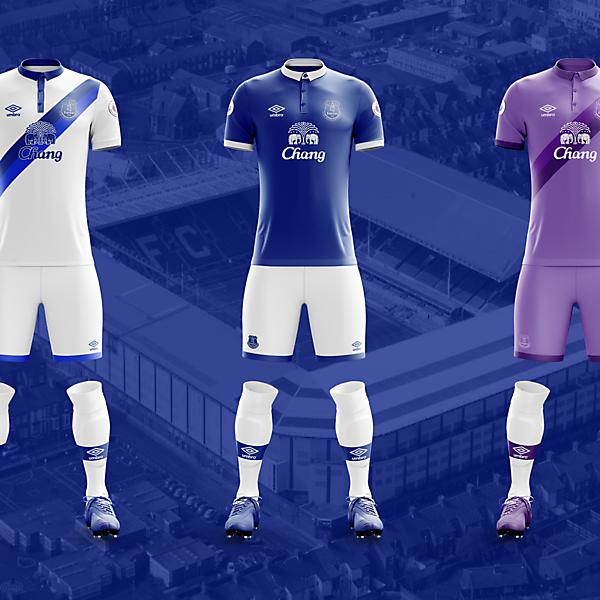 Everton x Umbro Concepts
