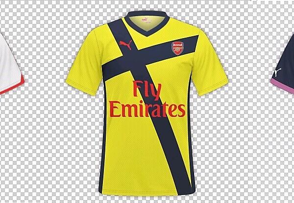 Fantasy Arsenal FC Kits by @JuaniGlade