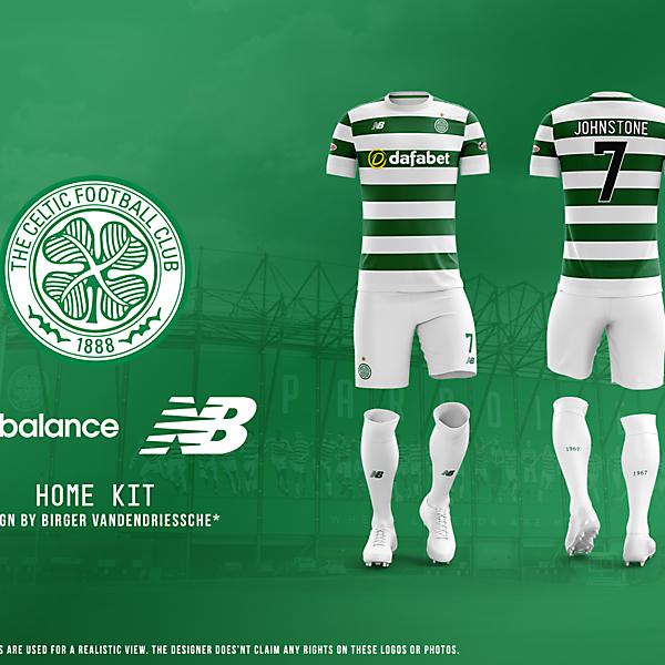 Celtic FC - Fantasy Football Kit (HOME)