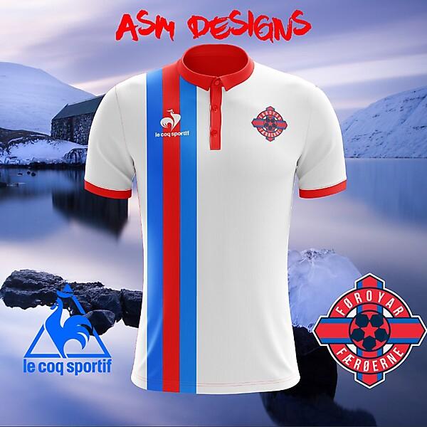 Faroe Islands National Team 2018 Le Coq Sportif Home Kit