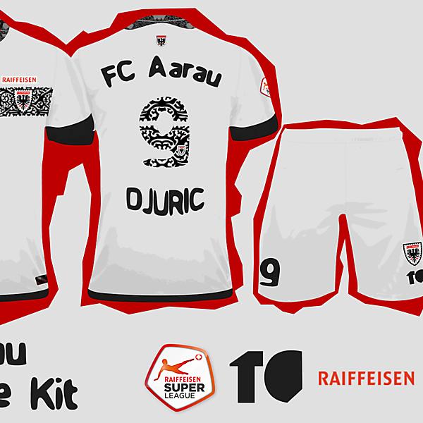 FC Aarau Home Kit