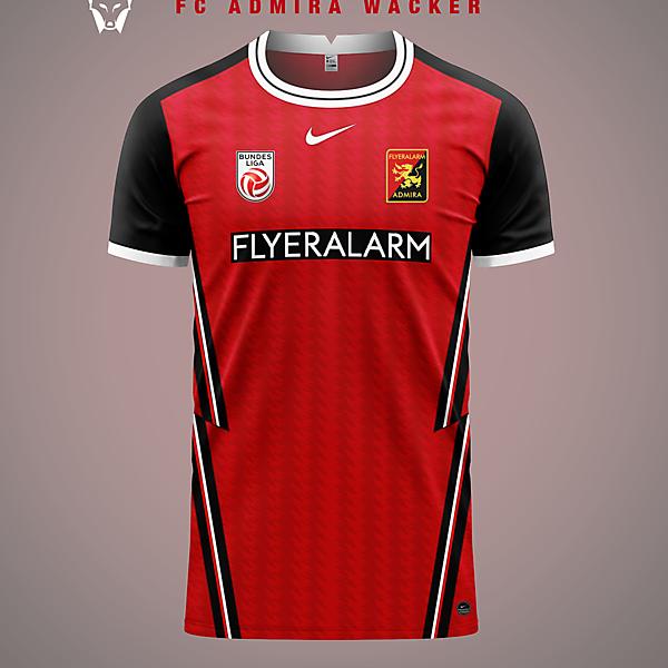 FC Admira Wacker Mödling - home shirt