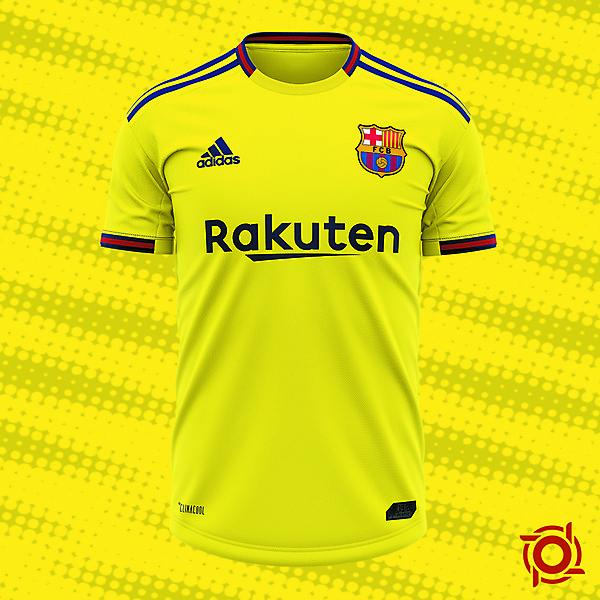FC Barcelona Away Jersey Concept
