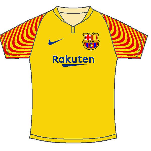 FC Barcelona away kit by #Sportix