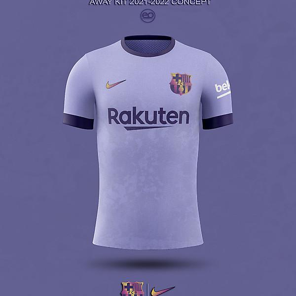 FC Barcelona AWAY Kit Concept 2021-2022