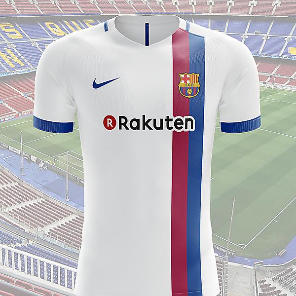 FC Barcelona away shirt 2017-2018