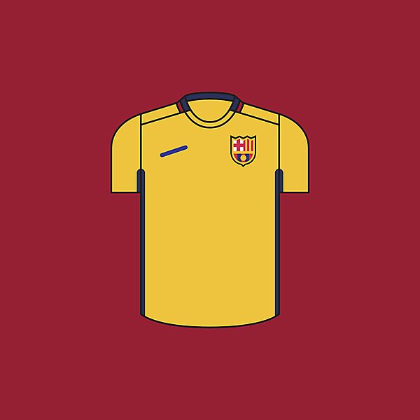 FC Barcelona Away × Minimalist