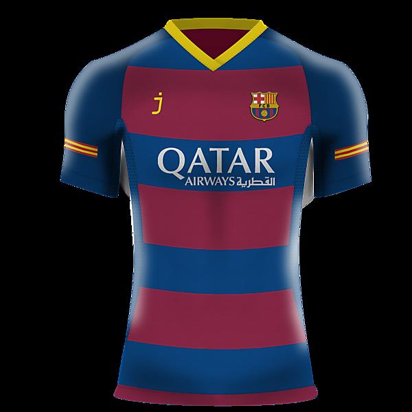 FC Barcelona home kit by J-sports