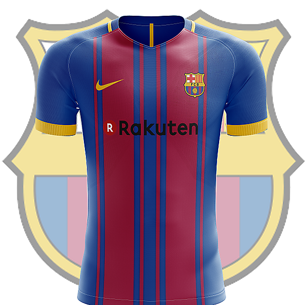 FC Barcelona home shirt 2017-2018