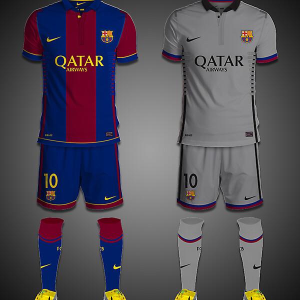 FC Barcelona Kits