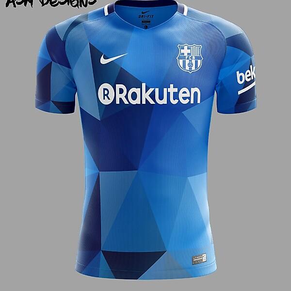 FC Barcelona Nike 2018 Alterante Kit