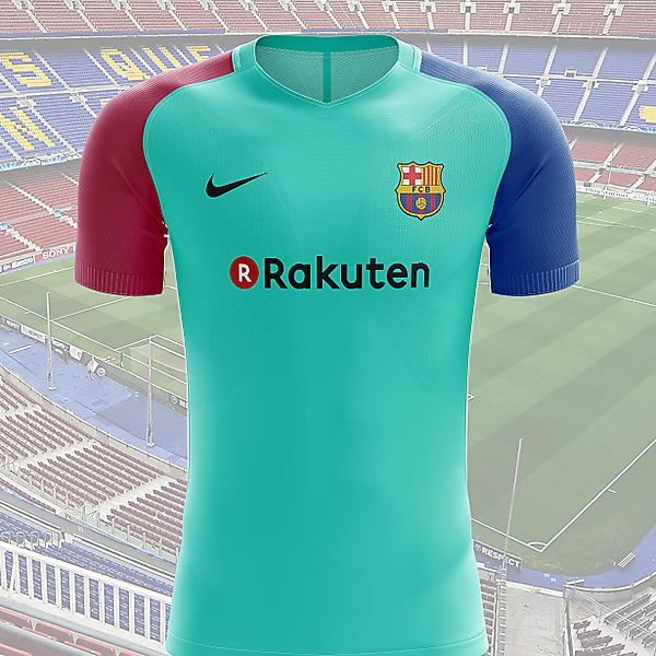 FC Barcelona third shirt 2017-2018