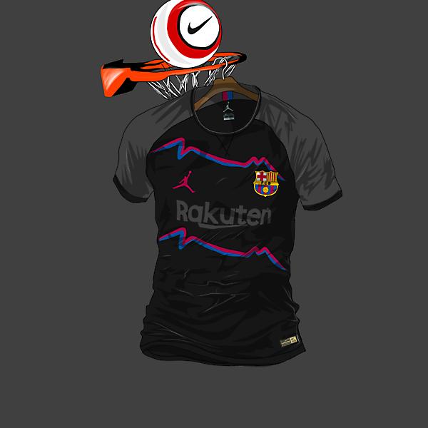 FC Barcelona x Air Jordan 3rd Kit