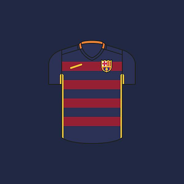FC Barcelona × Minimalist