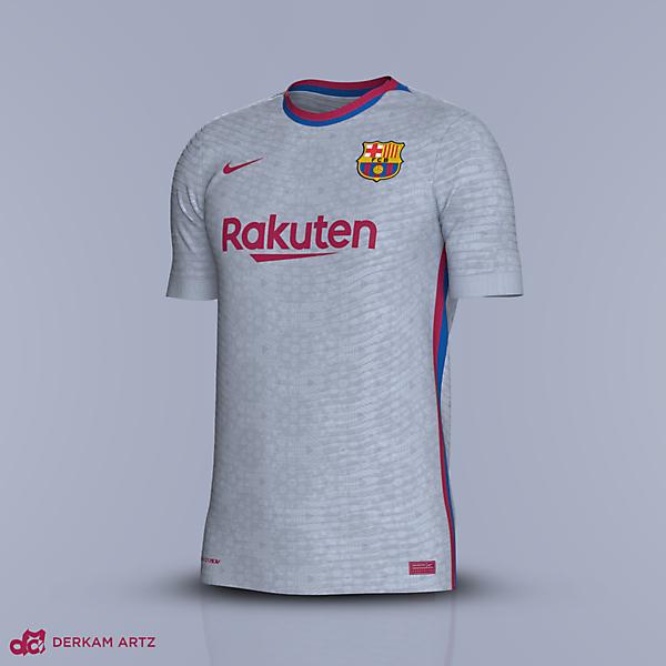 FC Barcelona x Nike - Away Concept