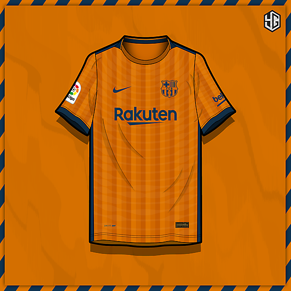 FC Barcelona x Nike home jersey concept