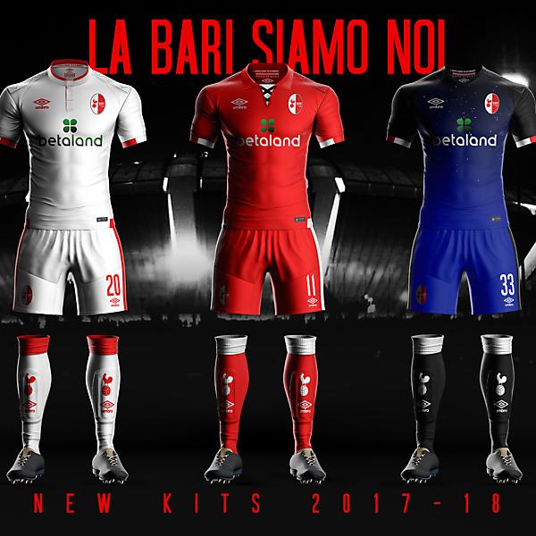 FC Bari 17-18 concept kits