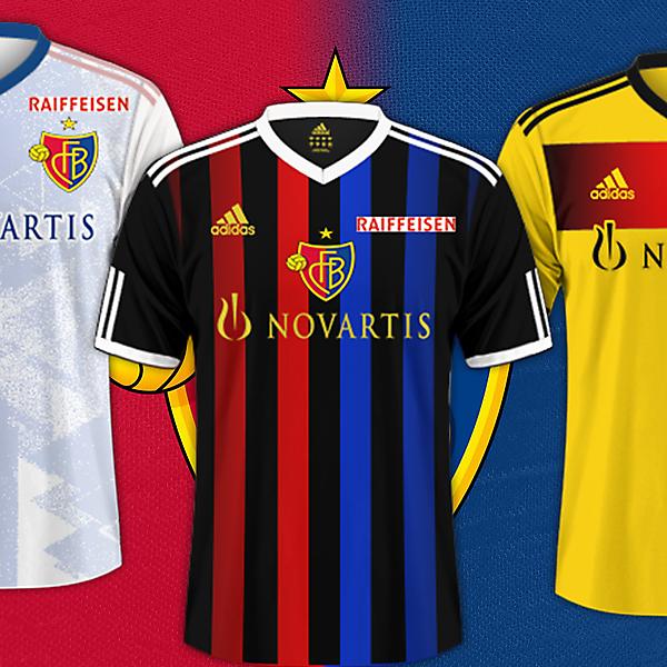 Fc Basel / Adidas Kits