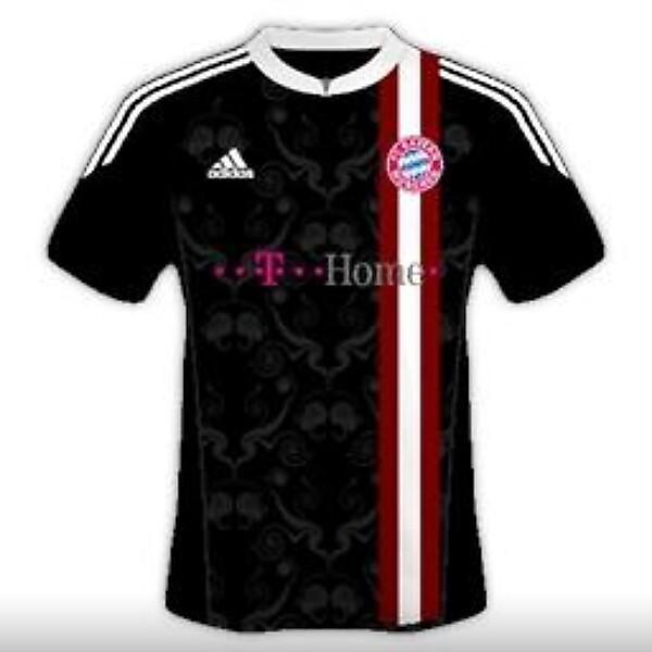 FC Bayern München 2014-15 Away Kit Design