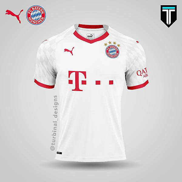 FC Bayern München x Puma - Away Kit