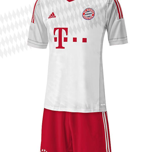 FC Bayern Munchen - Away 15/16