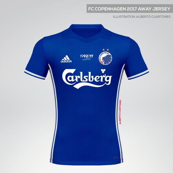 FC Copenhagen 2017 Anniversary Away Jersey