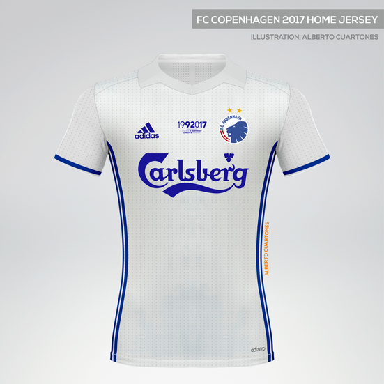 FC Copenhagen 2017 Anniversary Home Jersey