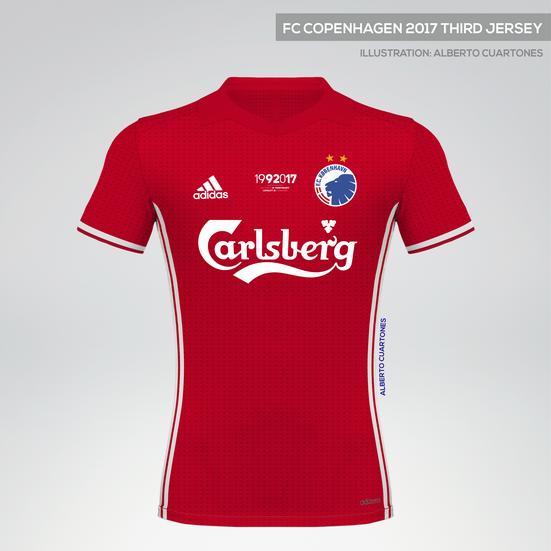 FC Copenhagen 2017 Anniversary Third Jersey
