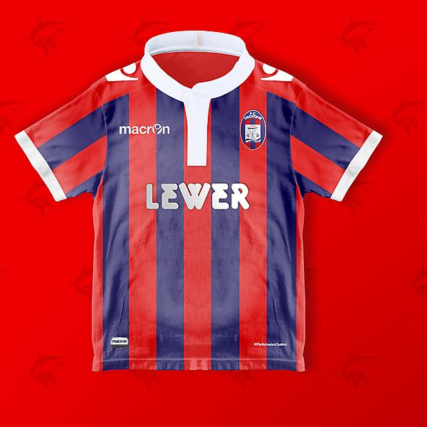 FC Crotone x Macron - Home
