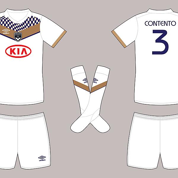 FC Girondins de Bordeaux - Umbro - Away shirt