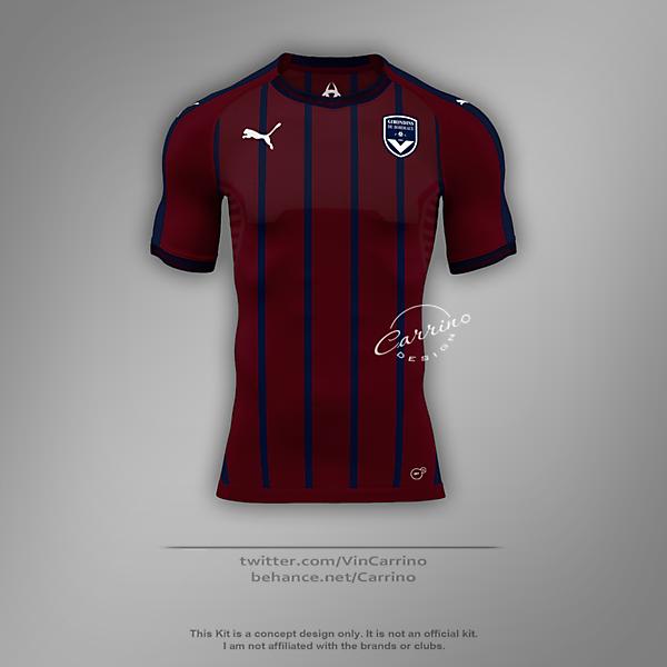 FC Girondins de Bordeaux Third Jersey | Concept Design
