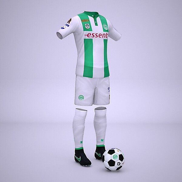 FC Groningen Home Kit 2015 / 2016 Robey (visual by Sceafa)