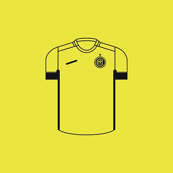 FC Inter Milan Third × Minimalist