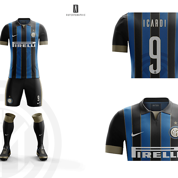 FC Internazionale HOME Kit 2016-17   Concept/Unofficial