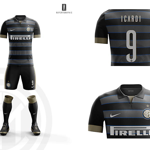 FC Internazionale UEFA  Kit 2016-17   Concept