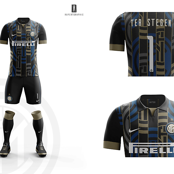 FC Internazionale Goalkeeper Kit 2016-17 | Concept/Unofficial