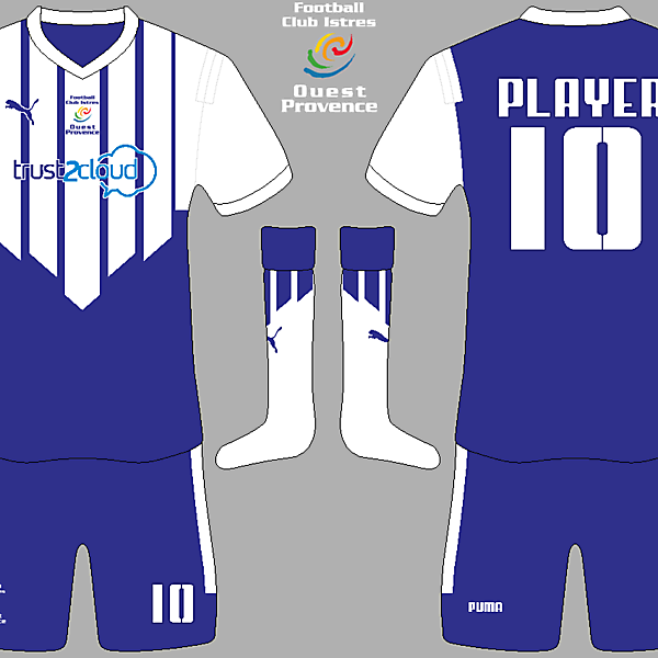 FC Istres Home Kit