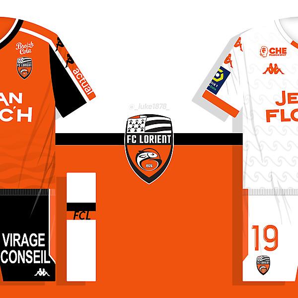 FC Lorient 2021-22 Concept Kits