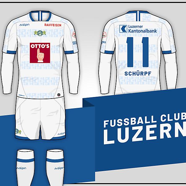 FC Luzern // Away kit