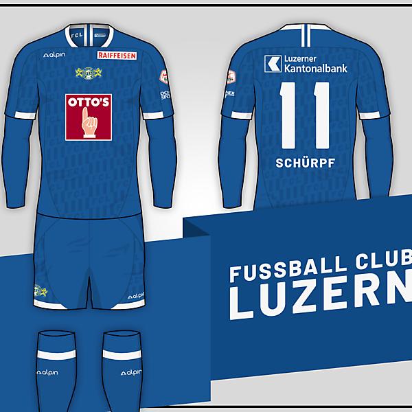 FC Luzern // Home kit