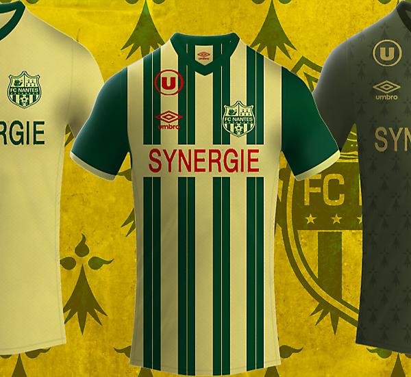 Fc Nantes 16/17 Umbro kits