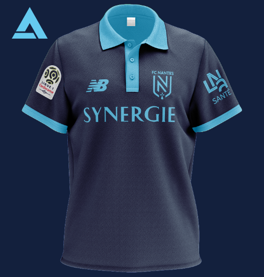 FC Nantes 2021 Away Kit